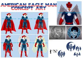American eagle man concepts 2 by Rene-L
