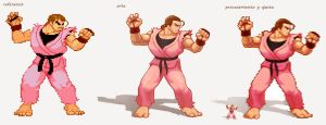 Dan | Street Fighter fanart practice by tavofunk
