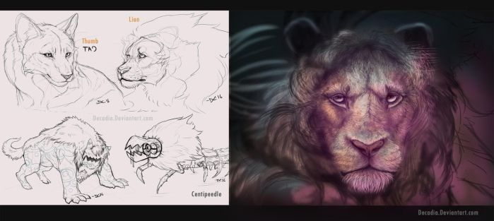 Steven Universe Creature Sketch Pile by Decadia