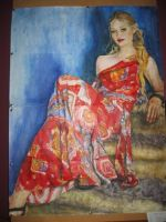 The Lady in Red by LilithVallin