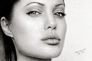 Angelina Jolie by dampStamp