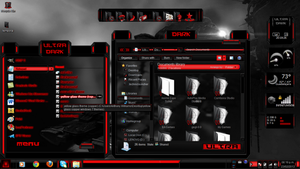 dark ultra theme win7 by ToxicoSM