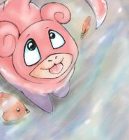 Look up slowpoke by NicoLin