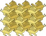 Tessellated Lions by RFat