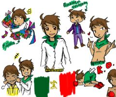 Hetalia Mexico by BlueStarz057