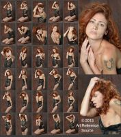 Kaitlynn 30 Dramatic Expressions and Poses Stock by ArtReferenceSource