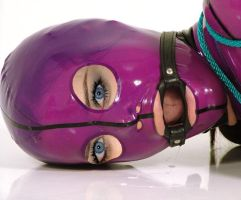 Alexis Bledel Hooded and ringgagged by Dani0815