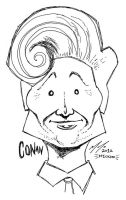 Conan O'Brien COCO Sketch by mickmoart