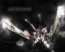 GUNDAM Wallpaper by Moptophaha