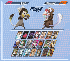 Bagbeans: Character Select by jalajalapeno