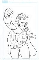 Power Girl Lines 2011 by RAHeight2002-2012
