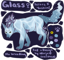 Glass - Design Commission by NinjasHeart
