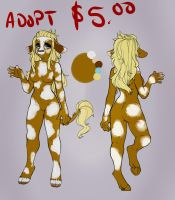 5.00 cow adopt by IcissNightly