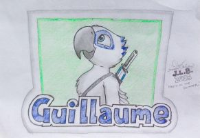 Guillaume Badge by SammfeatBlueheart