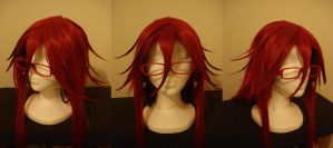 Grell Wig w/ Glasses by Roxxi980