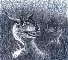 Dino Creatures by Chamel413
