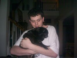 Pug and Me ^^ by Dj-Equestrian-LP-Fan