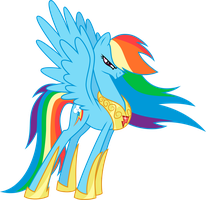 Rainbow Dash Vector by MultiverseCafe