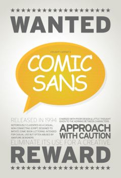 SchoolComp: Poster2-Comic Sans by angelaacevedo