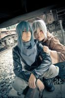 no6 - Nezumi and Shion by SKYLineCosplay