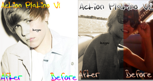 Actions Platino V1 and V2 by LarahLoveyou