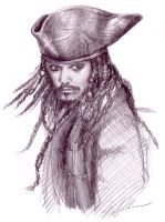 PC: Captian Jack Sparrow by KrisKenshin