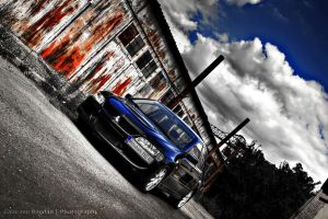 EVO VIII - Red meets Blue HDR by HDRenesys
