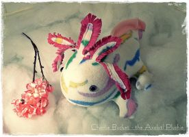 Charlie Bucket - The Axolotl Plushie by Plushbox