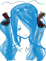 Bottle Miku by Balloons-In-The-Sky