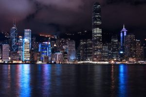 Hong Kong Skyline by fayerman