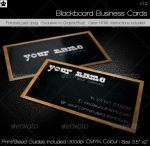 Blackboard Business Card by HollowIchigoBanki