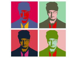 Nostalgia Critic - Andy Warhol by WheelOfFish