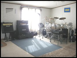 Early Morning Practice Room by nevergetfooledagain