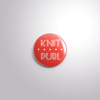Knit Purl by MermaidSoupButtons