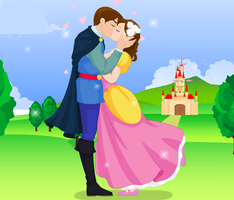 Cinderella Kissing Prince - Princess Dress up Game by willbeyou