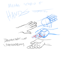 Hands Tutorial 1 by FredGDPerry