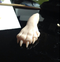 Shiny Quilava Paw (WIP) by AmethystCreatures