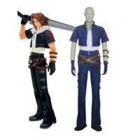 Kingdom Hearts Squall Blue Cosplay Costume by Leonaclick