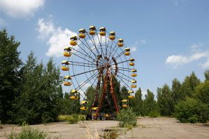 The Pripyat Riesenrad by Br3ach