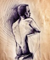 Life drawing 02 by SolidAlexei