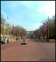 Path of Union Jacks by PrincessNut