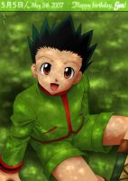 Gon - May 5th by LauraPaladiknight