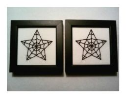 Nautical Star Embroideries by me-tal