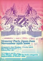 Monsterpark open jam by incogburo