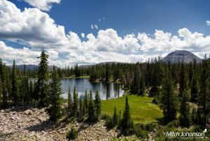 View of Butterfly Lake by mjohanson