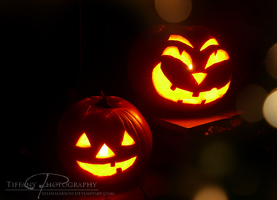 Jack o' Lanterns by selinmarsou