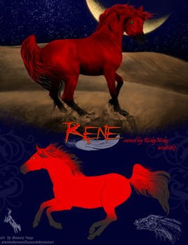 Reference for Rene by atwistedsenseofhumor