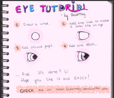 EYE TUTORIAL by Shaerray