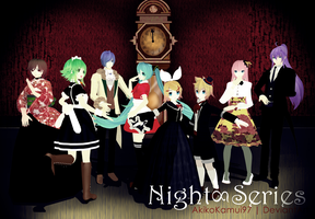PD Vocaloid - Night Series + Download Link by AkikoKamui97