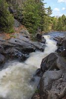 Dave's Falls on the Pike River by papatheo